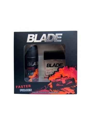Blade Blade Faster Bay Parfüm Seti 100 Ml+150 Ml Deodorant Kofre Renksiz